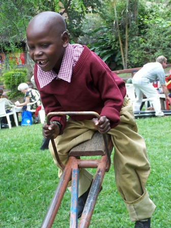 Handicapped Compassion Child in TZ